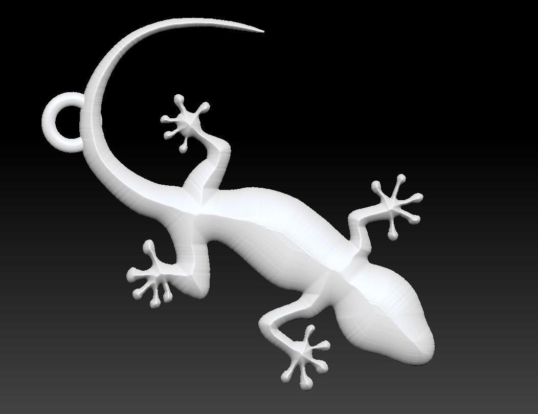 Gecko - copia.jpg Download free STL file Gecko • Design to 3D print, Majs84