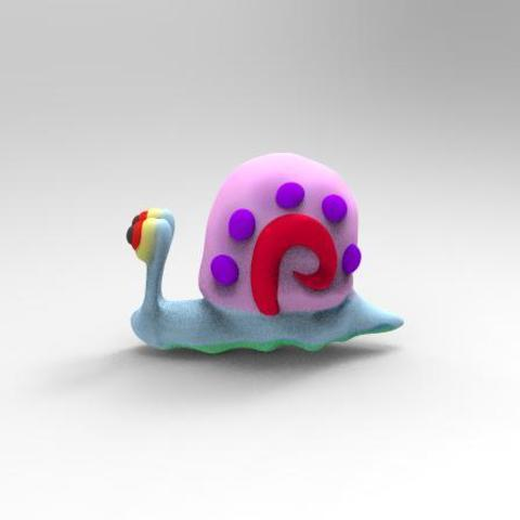 Gary .2.jpg Download STL file Gary the snail • 3D printable model, Majs84