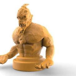 3d printer model Demon bust 1, Majs84