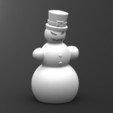 Download STL file Evil snowman • 3D printable model, Majs84