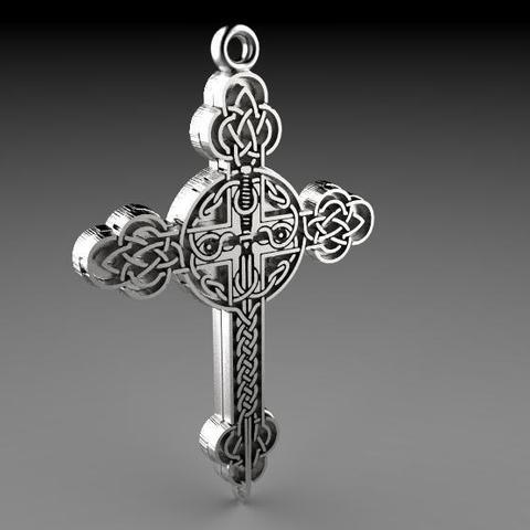 Modelos 3D para imprimir Celtic cross, Majs84