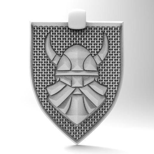 Download 3D printer templates Viking pendant 7, Majs84