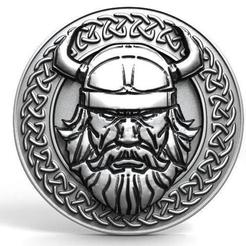 Viking pendant 13.0.jpg Download STL file Viking pendant 13 • 3D printer design, Majs84