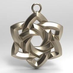 Celtic knot 4.1.jpg Download STL file Celtic knot 4 • 3D printer object, Majs84