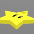 étoile 2.PNG Download STL file Star, Mario, Star of Power, Luigi, Yunorga • 3D printing object, Yunorga