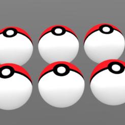 3D print files Pokéball, Pokémon, Yunorga, Yunorga