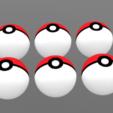 Télécharger STL Pokéball, Pokémon , Yunorga, Yunorga