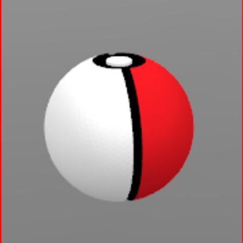 pokéball.PNG Download free STL file Pokémon, Pokéball, Ball, Yunorga • 3D printable template, Yunorga