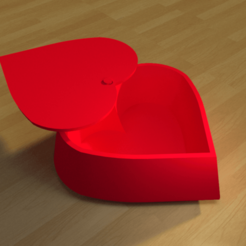 Download 3D printer model Heart box simple 3D print model, giannis_let