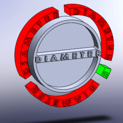 exploded view.PNG Download STL file Pi constant educational 3D printable model • Design to 3D print, giannis_let