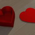 Download 3D printer model Heart box simple 3D print model, giannis_let