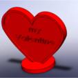 3D print model heart valentine love 3D print model, giannis_let