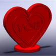 STL regalo de corazón amor, giannis_let