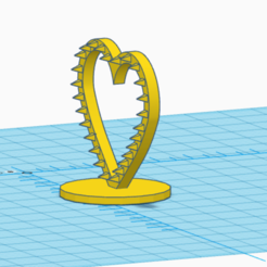 Download 3D printing designs heart trap 3d printable , giannis_let