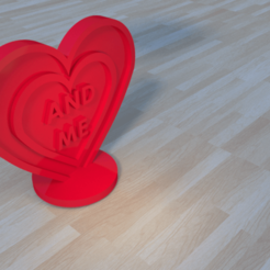 3D printer files heart gift love, giannis_let