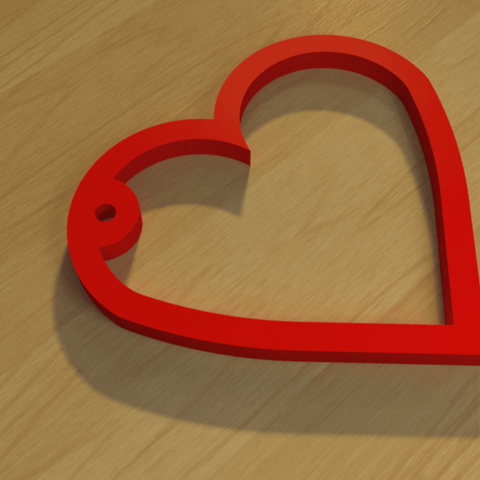 Download 3D printing models heart-simple 3D print model, giannis_let