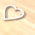 STL files heart-simple 3D print model, giannis_let
