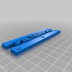 Download free STL file Pieterpad Sign • Object to 3D print, fgeer