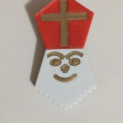 Download free STL file Sinterklaas • 3D printable template, fgeer