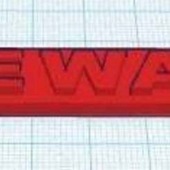 Télécharger plan imprimante 3D gatuit Porte-clés Neways, fgeer