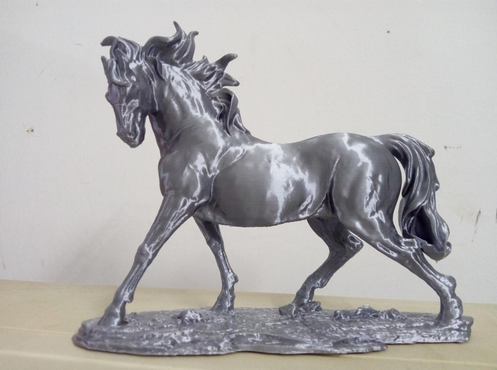 Horse 3D printing1.png Télécharger fichier STL gratuit Cheval • Modèle à imprimer en 3D, stronghero3d