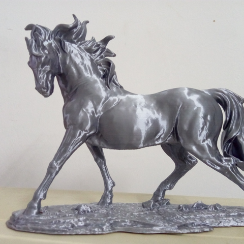 Free stl Horse, stronghero3d