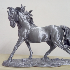 Horse 3D printing1.png Download free STL file Horse • 3D printable template, stronghero3d