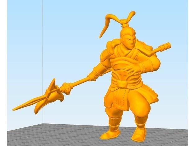96e90e55c4965408e4a799fb1746fdb9_preview_featured.jpg Download free STL file General Lv Bu • 3D printable model, stronghero3d