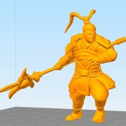 Download free 3D printer designs General Lv Bu, stronghero3d