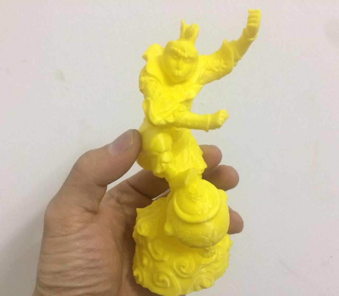 Capture d'écran 2017-01-10 à 11.13.11.png Download free STL file Monkey King • 3D printing template, stronghero3d