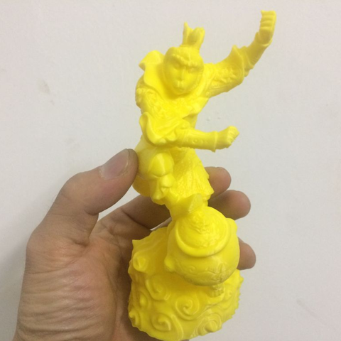 Download free 3D printer model Monkey King, stronghero3d