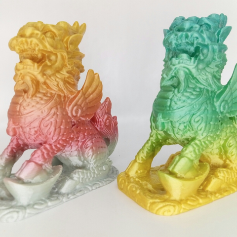Free 3d printer designs stronghero3d qilin, stronghero3d