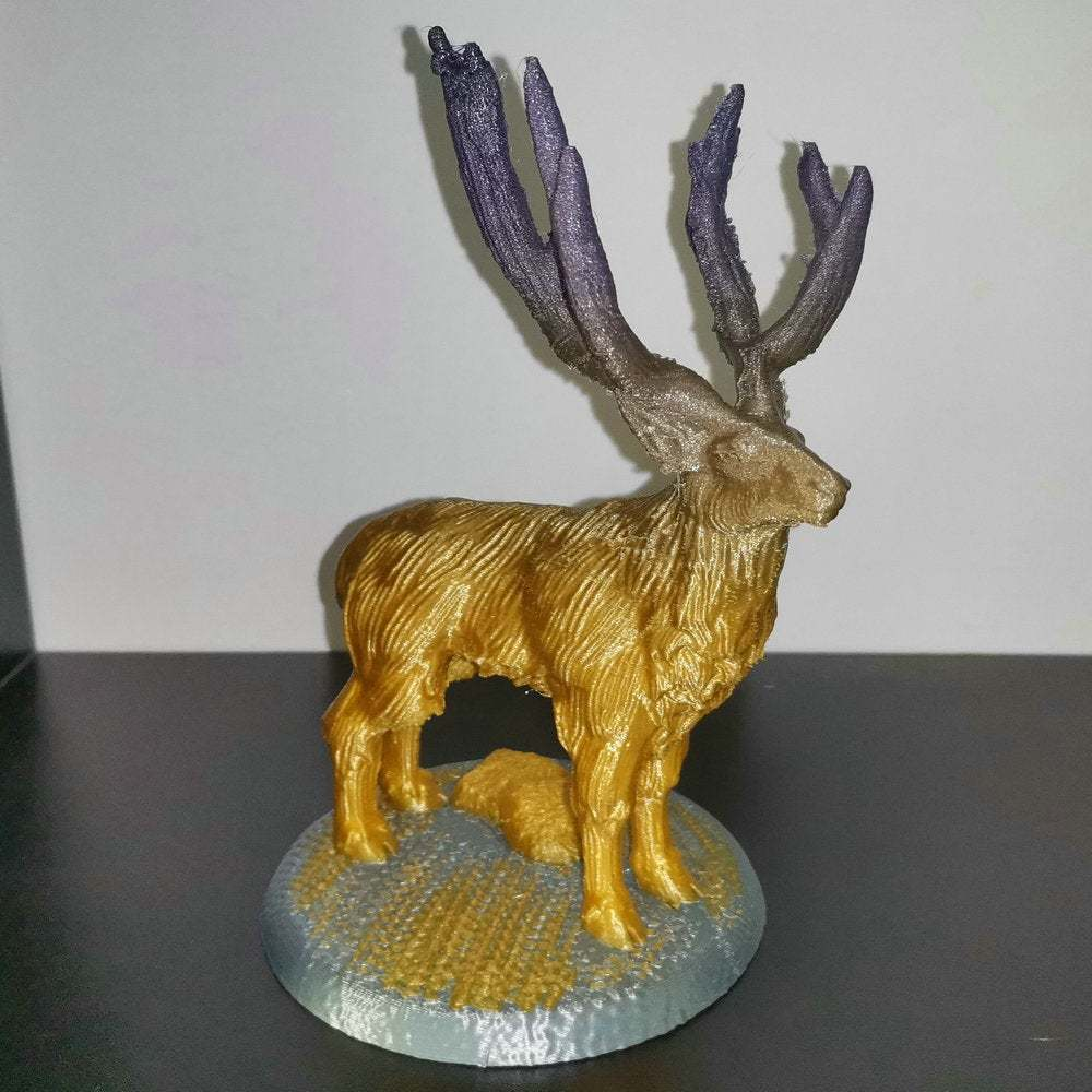 IMG_20200904_082455.jpg Download free STL file Elk deer • 3D printing template, stronghero3d