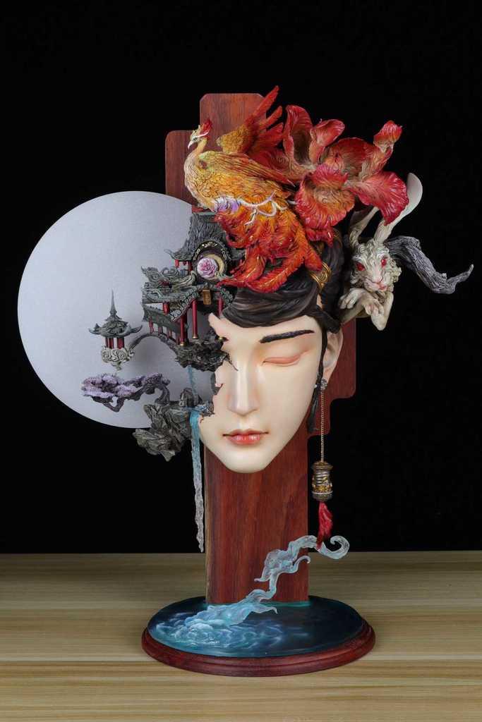 dbd904dcb7524cbaf1498c8816af38d5_display_large.jpg Download free STL file Guanghan Palace  Change Fairy • 3D printable design, stronghero3d