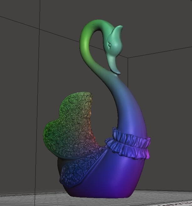 e95eed15163dd6954c8beff21ab36498_display_large.jpg Download free STL file Stronghero3D A pair of Swans • Model to 3D print, stronghero3d