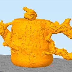 Download STL file tree pot from stronghero3d • 3D printable template, stronghero3d