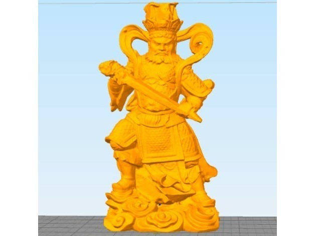 f881c891882009a96d7d0c8593032b36_preview_featured.jpg Download free STL file 4 Guardians on South Gate of Heaven Palace • 3D printable template, stronghero3d