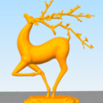 20200903180301.png Download free STL file Running Sika Deer • 3D printing object, stronghero3d