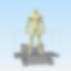 Download free 3D printer files Street fighter Sagat, stronghero3d