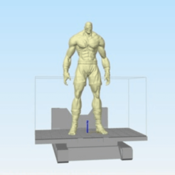 Download free 3D printer files Street fighter Sagat, stronghero3d