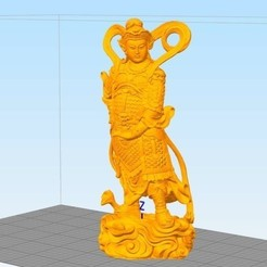 Free 3d print files Veda General, stronghero3d