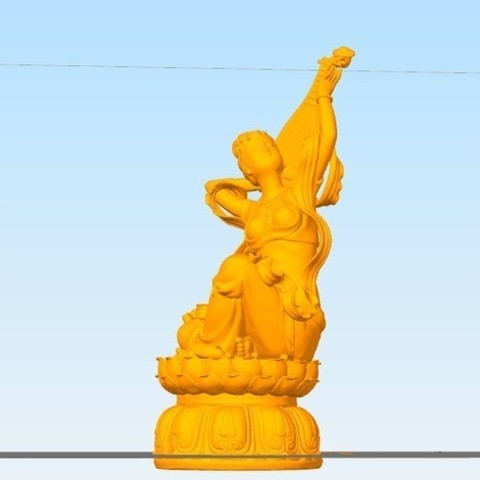 8bab882b0276357170ff895a090506e3_preview_featured.jpg Download free STL file Fly to the sky and play lute in the contrary way • 3D printing template, stronghero3d
