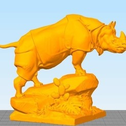 Download free 3D printer model Rhinoceros, stronghero3d