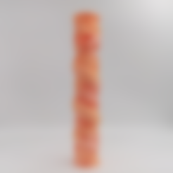 Free 3D printer file Fine Dragon spiral pillar, stronghero3d