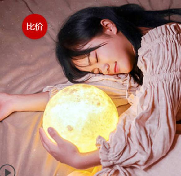 Capture d'écran 2017-04-13 à 09.38.19.png Download free STL file  Hot sale moon ball with LED light • Design to 3D print, stronghero3d