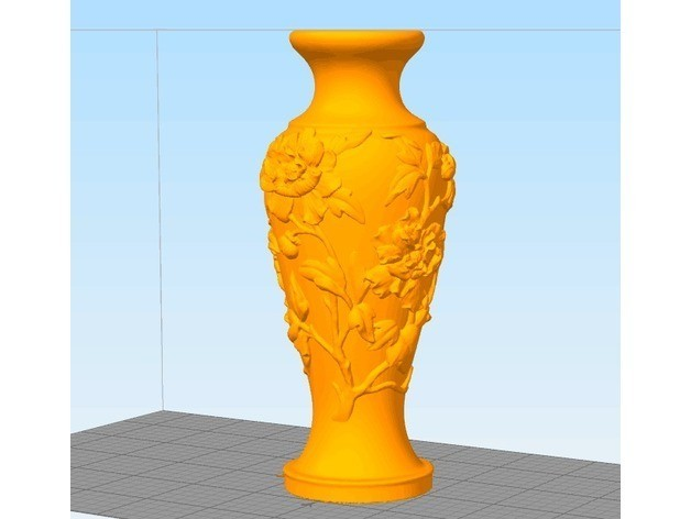 3e68d5552cbd279c293e535a121db811_preview_featured.jpg Download free STL file Vase of Peony Pattern • 3D print design, stronghero3d