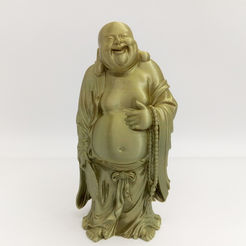Free 3d printer designs Smilling Buddha, stronghero3d