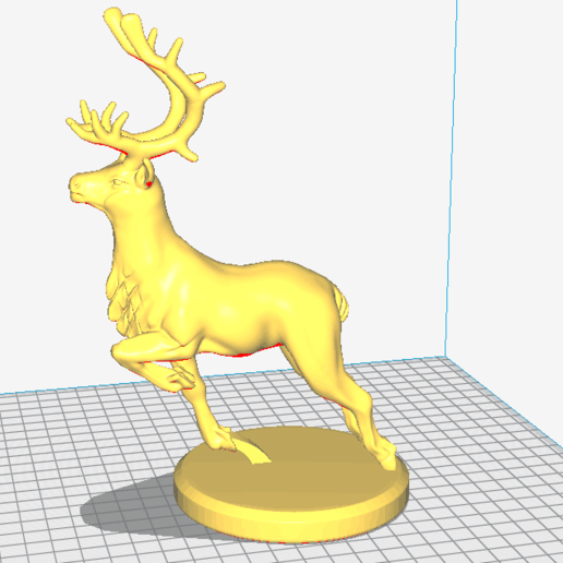 20200903175701.png Download free STL file A lovely deer • 3D printing template, stronghero3d