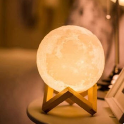 Download free STL file  Hot sale moon ball with LED light • Design to 3D print, stronghero3d