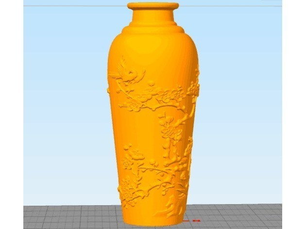 bf4ea6d8babd2369ac99d42f0a2b7fec_preview_featured.jpg Download free STL file Vase of Joy on the plum blossom • 3D print design, stronghero3d